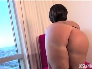 Joslyn James Red Chair Sexy Solo