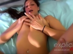 Sheryl Riviera giving a Massage with happy ending in POV