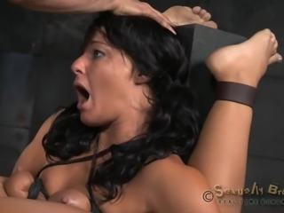 restrained milf gets fucked hard