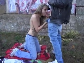Teen punk girl first time public sex