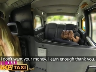 FemaleFakeTaxi Busty blonde creampied by criminal after hard fucking