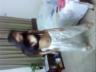 Indian babe dancing nude