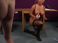 Milf Gets A Double Facial (With Behind The Scenes)
