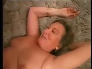 Shaved Granny Butt Fucked