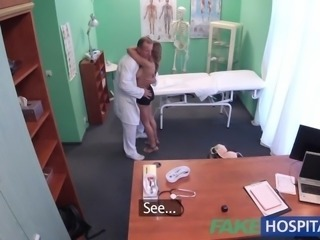 FakeHospital Good hard sex with patient after earthquake ignites sexual lust
