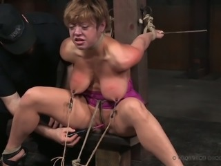 Mature whore Dee Williams gets punished in the dungeon