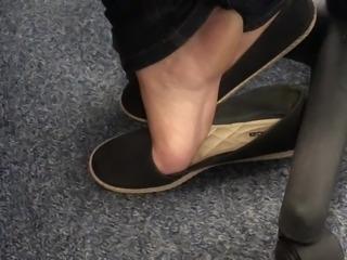 Compilation candid amateur feet toes soles pies piedi