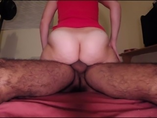 Hairy amateur MILF wife fucking experienced pleasure