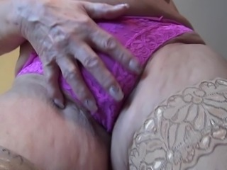 Gerdi is alone in her house and as we can see, she is desperate to make her...
