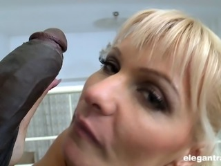 BBC anal brings the curvy blonde milf orgasmic satisfaction