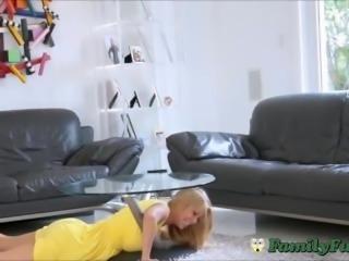 Big Tits Milf Stepmom Taken Advantage Of