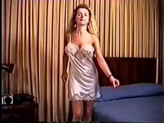 80`s Amateur from California Striptease Nylon Panties and Slips Nylon