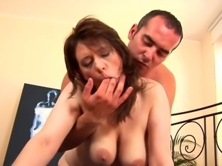 mature with incredible beauty boobs