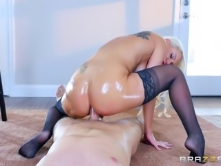 Kenzie's big desire is to take that pulsating cock straight into anus