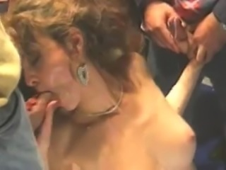 Wife Gangbang and DP
