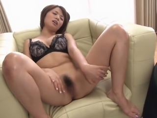 A Japanese wife gets fucked while her husband watches