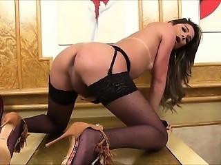 Horny trans has an orgasm - homemade
