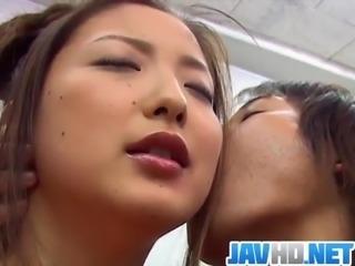 Katsumi Matsumura enjoys sex at school with horny teacher