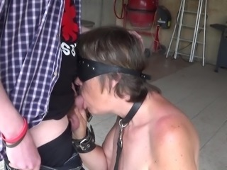 Young man Enjoying an Old Whore