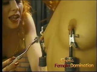 Bossy mistress gives her favorite slave an unforgettable bds