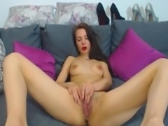 Sexy Amateur Girl Solo Masturbation