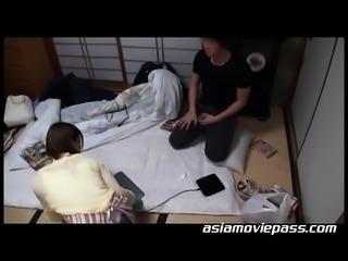 Busty Asian Lady Hardcore AV Discovery