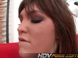 Brunette Teens Holly Michaels Like a Big dick