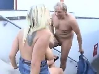 Deann from 1fuckdatecom - German pierced mom in public