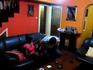 Hot African whore gets her pussy slammed in IR action