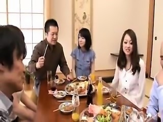 Delightful Japanese ladies putting their wonderful boobs on