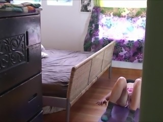 Stepbrother cums in my bedroom - Erin Electra, ElectraChrist