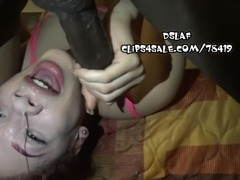 Deepthroat Face Fucking From BBC Compilation- DSLAF