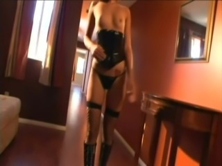 Desirable brunette angel Crissy Moon wants this dude so bad