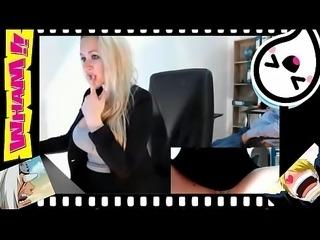 Office girl por la webcam parte2