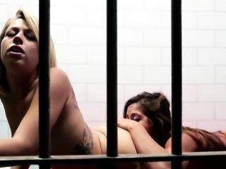 Latina lez inmate rimming