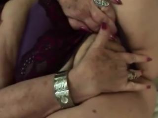 Bbw granny Dominika wild doggy style big rod