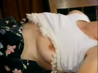 Housewife in her kitchen fucked hard