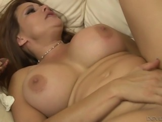 Mega busty whore Shiela Marie enjoys having anal sex with stepdaughter's husband