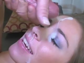 Hot Facial Cumshot Compilation