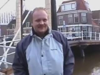 arab girl in amsterdam