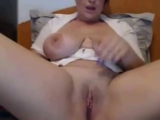 Alluring voluptuous webcam whorable MILF exposed her just perfect big tits