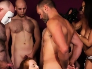 Unusual bombshell gets sperm load on her face eating all the