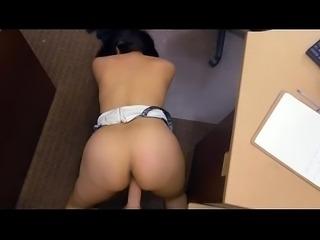 Big Breasted Sophie Leon Getting Slammed In Da Pawn Shop