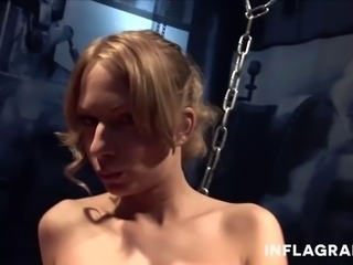 German Milf machine fucked