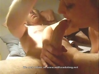 Best deepthroat ever by a MILF