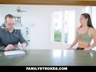FamilyStrokes - Mom Caught Me Fucking Her Husband