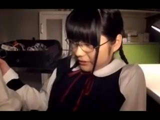 japanese glasses girl 1h part2