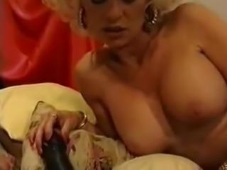 Eva Delage large dildos clip long nails