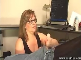 Milf Wants To Test Cum Pills On Young Stud
