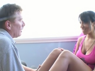 Smoking hot Momoko Mitchell hammered deep in her soaking vagina